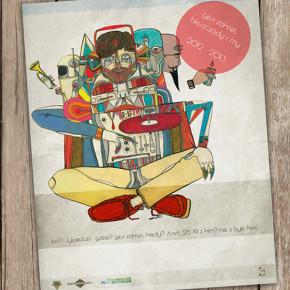 plakat sylwestrowy