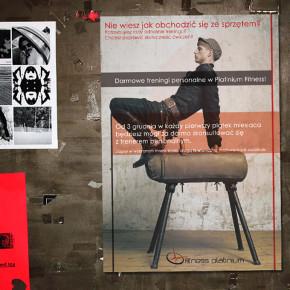 Plakat Fitness Platinium