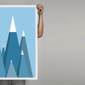Plakaty morze, góry